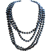 Opera Length Fresh Water Pearl Necklace, 91'' Necklace