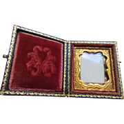 Victorian DAGUERREOTYPE Case, Antique Picture Frame