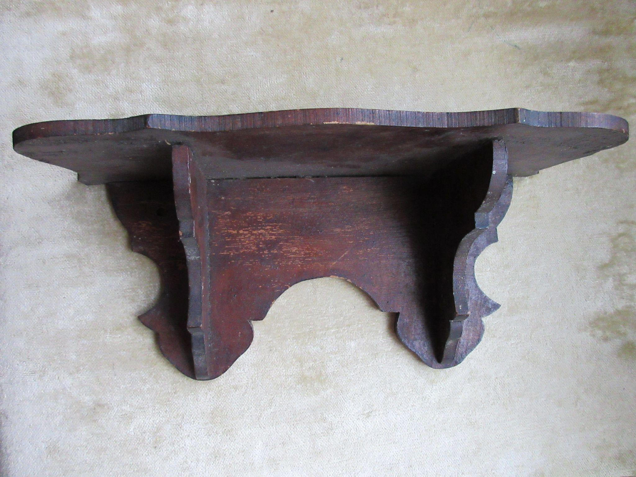 Victorian Clock Shelf, Small Clock Shelf