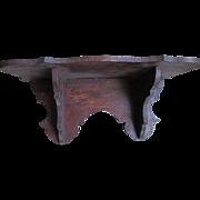 Victorian Clock Shelf, Small Clock Shelf