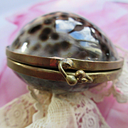 Cowry Shell Coin Purse, Rosary Holder