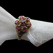 Victorian 10K Ruby Ring