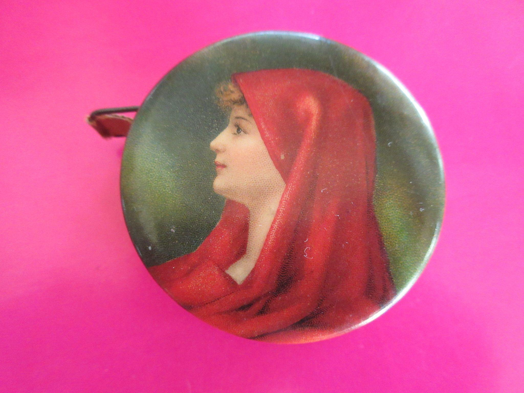 Vintage Sewing Advertising Celluloid Tape Measure