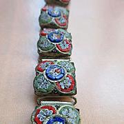 Older Vintage Italian Mosaic Bracelet