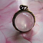 Antique Victorian Pools Of Light Locket Crystal Bubble Locket