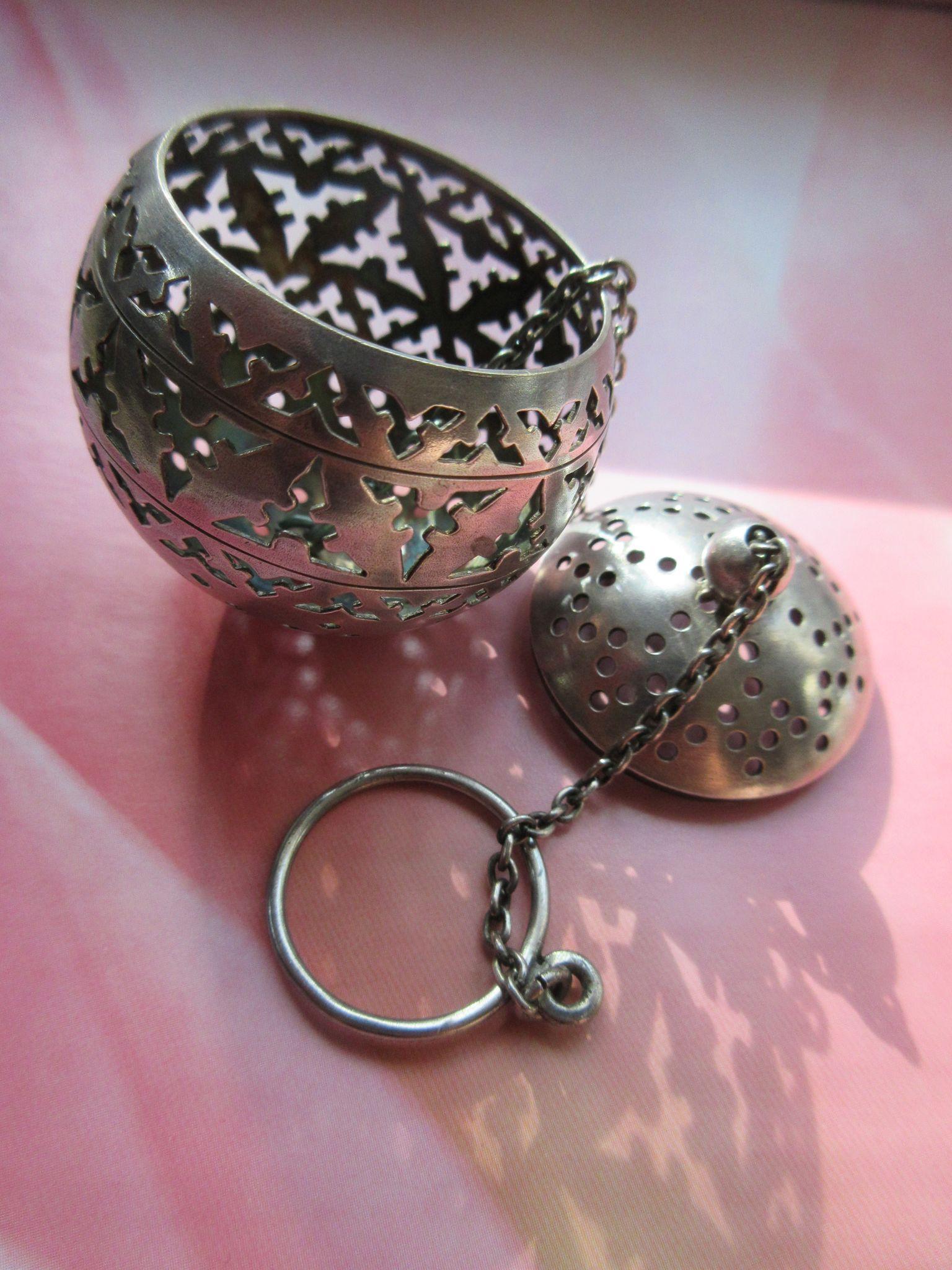 Vintage Silver Tea Ball Infuser