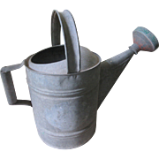 Vintage Galvanized Sprinkling Can Watering can