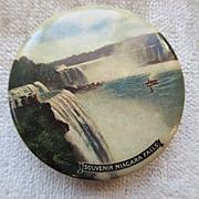 Vintage Niagara Falls Souvenir Compact P.N. Co 1917