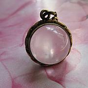 Antique Victorian Pools Of Light Locket Crystal Bubble Locket