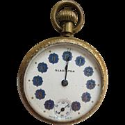 Antique Gladiator Pocket Watch TLC
