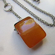 Vintage Russian Baltic Amber Necklace
