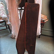 Antique Wood Stocking Stretchers Jos. T Pearson