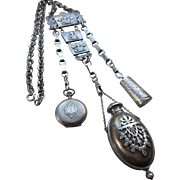Victorian Sterling Chatelaine
