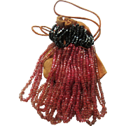 Antique beaded Doll Bag
