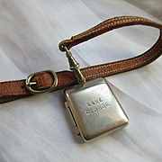 Vintage Lake George Souvenir Coin Holder Locket