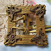 Antique Art Nouveau Buckle