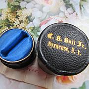 Antique Ring Box 1885