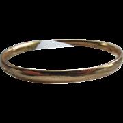 Antique Bangle Bracelet in Gold Fill