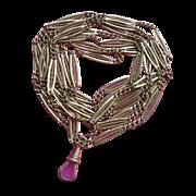 Victorian Solid 12K Gold Watch Chain Ladies Watch Chain