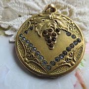 Antique Art Nouveau Paste Locket