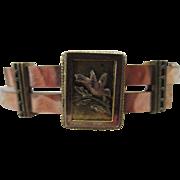 Victorian Bangle Bracelet in Gold Fill