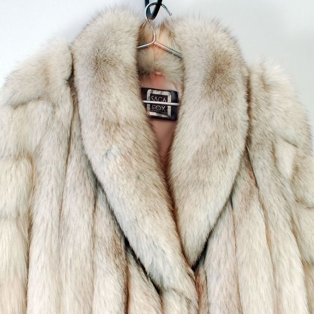 Wonderful Vintage SAGA Fox Fur Coat SOLD on Ruby Lane