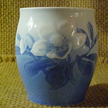 Bing and Grondahl Floral Vase