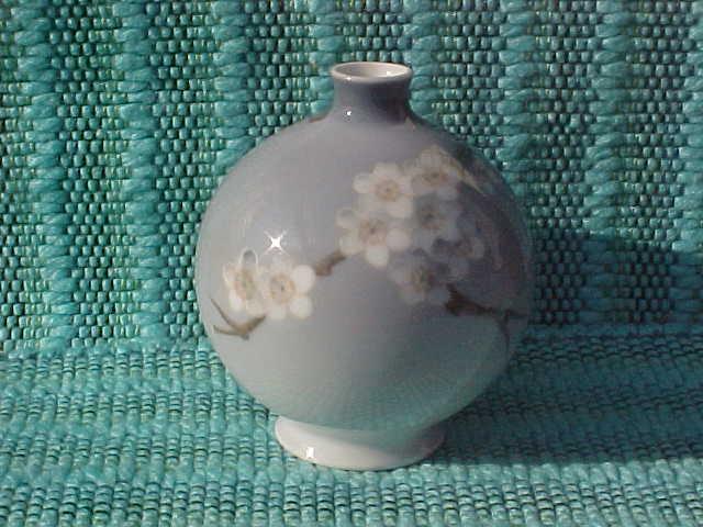 Bing and Grondahl Round Floral Jug Vase 436