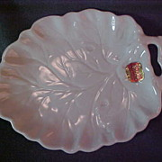 Spode Bone China Leaf Dish