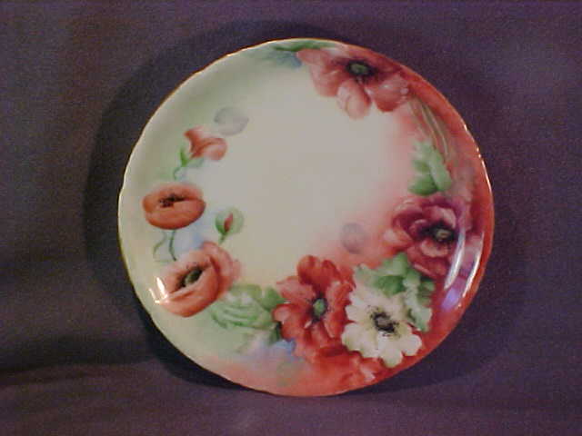 Rosenthal Versailles Hand Painted Plate Bavaria