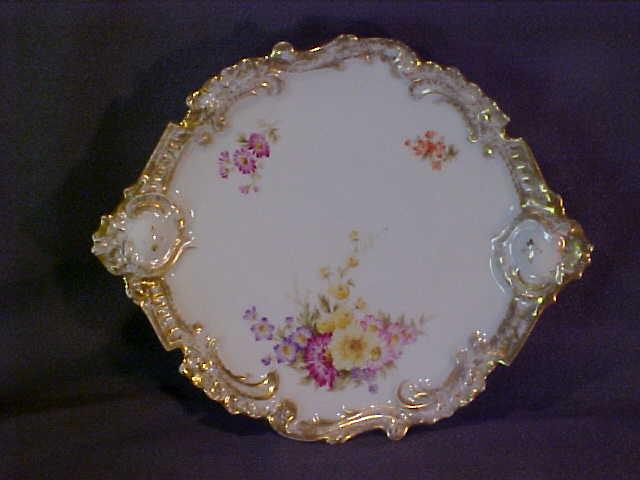 Limoges Handpainted Plate Bawo & Dotter Elite