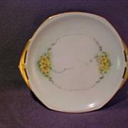 Moritz Zdekauer Small Hand Painted Dish Austria