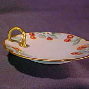 Limoges Porcelain Hand Painted Nappy