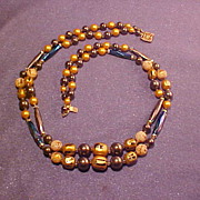 Double Strand Simulated Pearls Glass and Plastic
