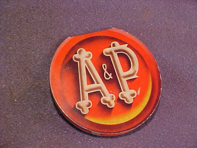 A & P Atlantic and Pacific Cardboard Sewing Kit