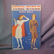 War Girls Paper Dolls
