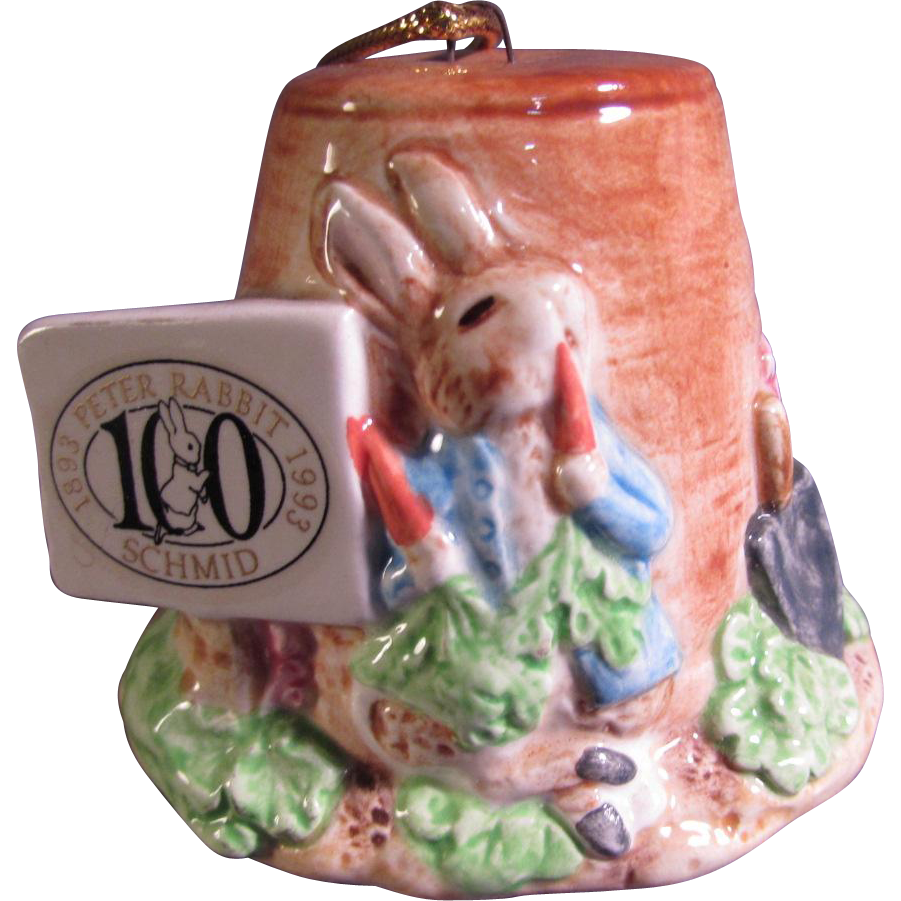 Peter Rabbit Christmas Ornament