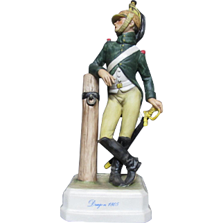 Goebel Napoleonic Military Figurine Dragoon 1805
