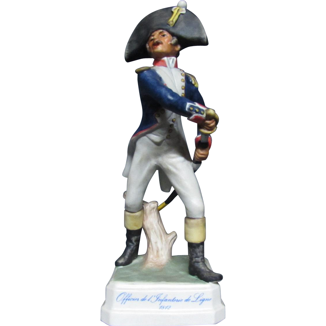 Goebel Napoleonic Military Figurine Officer of the Line 1812