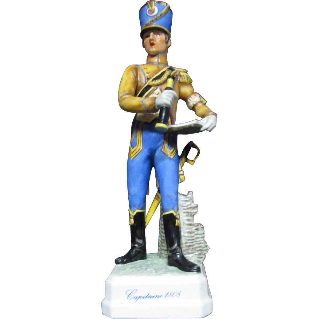 Goebel Napoleonic Military Figurine Captain 1808