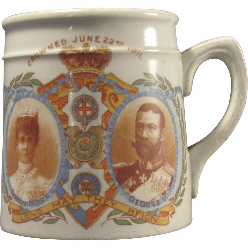 Grimwades Winton Small Mug George and Mary 1911 Coronation