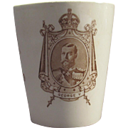 Royal Doulton Beaker Coronation George V Queen Mary 1911