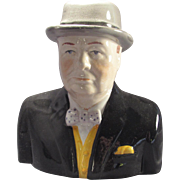 Wood and Sons Character Portrait Jug Winston Churchill