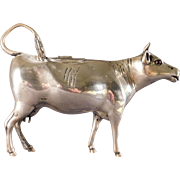 Dutch 833 Silver Cow Creamer