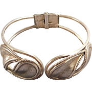 Sterling Silver Clamper Bracelet by Danecraft