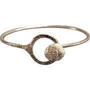Handcrafted Sterling Silver Child's Bracelet