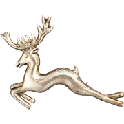 Sterling SIlver Mexican Deer Stag Pin