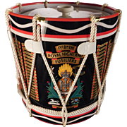 Regimental Drum Ice Bucket 1st Battalion The Royal Highland Fusiliers