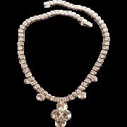 Mint Vintage Rhinestone Necklace by Kramer 1960s