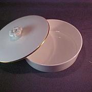 Spode Bone China Lidded Dish